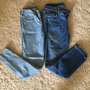 Set of 2 size 26 jeans